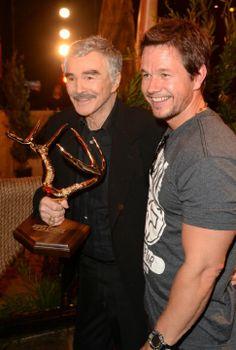 Mark Wahlberg and Burt Reynolds