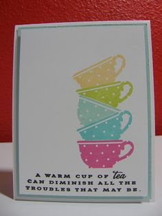 Cupcakes, Cards and Kim: Take 2 - Repeats & Rainbows - Papertry Ink's MIM #99