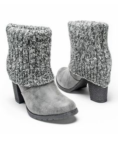 Another great find on #zulily! Gray Chris Boot #zulilyfinds