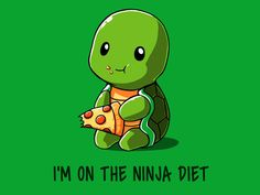 Kawaii Collection – Page 4 Cute Cartoon Drawings, Cute Cartoon Animals, Anime Animals, Cute Animal Drawings, Cute Animals, Cute Puns, Cute Memes, Turtle Quotes, Turtle Images
