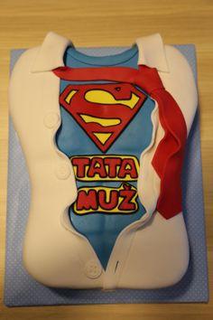 Superman cake by Zaklina