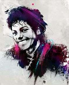 Michael Jackson by FINK creative , via Behance