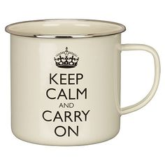 "a ""keep calm"" mug"