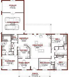15+ Best Ranch House / Barn Home / Farmhouse Floor Plans and Design Ideas #Barnhome #RanchHouse #Farmhouse #FloorPlans Tags: ranch house | ranch house plans | ranch house designs | ranch houses for sale