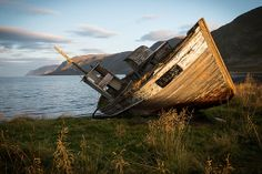 Abandoned fishing boat | Flickr - Fotosharing!