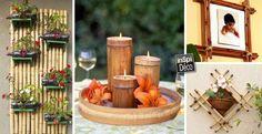 Voici 20 déco originales avec du bambou! Laissez-vous inspirer... Déco originales avec du bambou.Aujourd'hui une petite sélection de 20 idées originales pour créer de belles décorations avec du bambou. Laissez-nous vous inspirer... Amusez-vous bien...