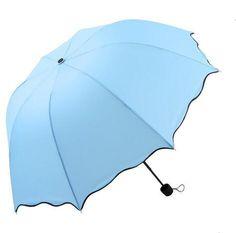 Women Rain Umbrella 4 Folding Female Umbrellas Handle Comfortable Strongly Brand For Princess 92CM