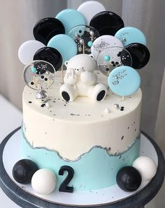 DM for Queries and Orders ❤️ Delivering P. by Cake Nest India Blue Birthday Cakes, Creative Birthday Cakes, Bolo Glamour, Pastry Cake, Shower Cakes, Themed Cakes, Cake Art, No Bake Cake, Cake Designs