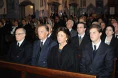 (L-R) Dom Luiz, head of the Imperial House; Prince Antônio, his brother & heir; Princess Cristina, wife to Prince Antônio and daughter of the late 13th Prince of Ligne; Prince Rafael, who takes over from his recently deceased brother as heir-presumptive to the throne of Brazil.