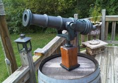 How to Make a Pirate Cannon: Part Two http://creativefuel.frch.com/2011/10/05/how-to-make-a-pirate-cannon-part-two/