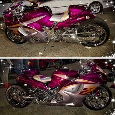 Custom Hayabusa, Custom Sport Bikes, Street Bikes, History Facts, Cool Bikes, Old And New, Hot Wheels, Badass, Sick