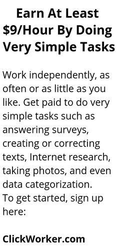 Ways To Earn Money, Earn Money From Home, Earn Money Online, Online Jobs, Way To Make Money, Legit Work From Home, Work From Home Jobs, Best Money Making Apps, Life Hacks Websites
