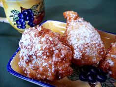 RICOTTA FRITTERS With Grand Marnier and Mini Chocolate Chips! - Proud Italian Cook
