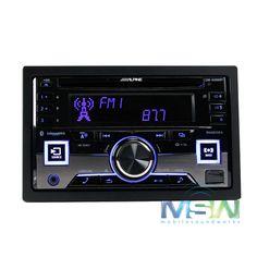 ALPINE CDE-W265BT IN-DASH DOUBLE DIN CD MP3 USB IPOD CAR STEREO RADIO BLUETOOTH