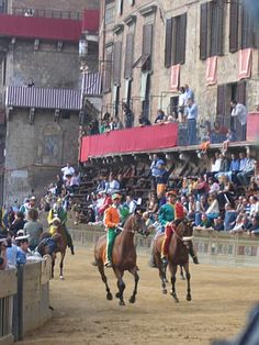 Il Palio, Siena, Italy - August 2, 2006
