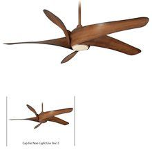 """View the MinkaAire Artemis 62 5 Blade 62"""" Indoor Ceiling Fan with Blades and Light Kit Included at LightingDirect.com."""