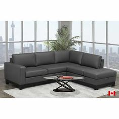 4ba904cf69 Carrera Top Grain Leather Right-hand Facing Sectional Carrera, Grains,  Couch, Leather