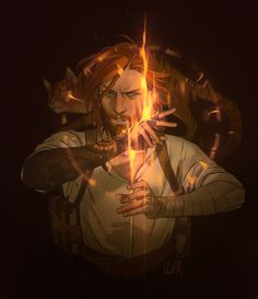 Caleb from Critical Role By Ulvar Fantasy Character Design, Character Design Inspiration, Character Concept, Character Art, Concept Art, Dnd Characters, Fantasy Characters, Rpg Wallpaper, Anders Dragon Age