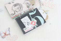 Document Your Year with a Sweet Mini Album - Using Numbers - Nikki Kehr