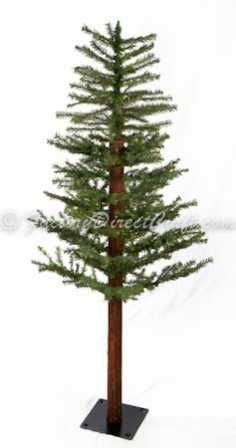 4 foot Primitive Alpine Skinny Christmas Tree - Primitive Christmas Trees - Primitive Decor