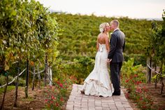 A Rustic Vineyard Wedding at the Villa de Amore in Temecula, California