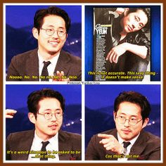 The Walking Dead - Steven Yeun - Glenn Rhee