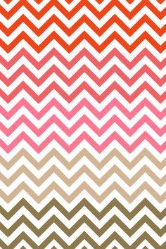 Free iPhone wallpaper Chevron Pink