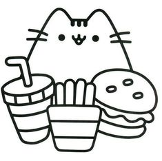172 Best Pusheen Coloring Pages Images In 2019 Pusheen Coloring