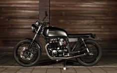 1981 Honda CB650 'Black Bastard' - Outsiders - The Bike Shed