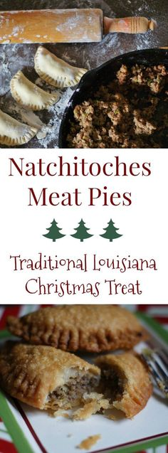 The Mini Natchitoches Meat Pie - a southern discourse Perfect for holiday parties and get-togethers, mini Natchitoches meat pies are a signature Louisiana hor d'ouevre. Find the Southern Discourse recipe here, plus the official north Louisiana state menu. Louisiana Recipes, Cajun Recipes, Southern Recipes, Meat Recipes, Appetizer Recipes, Dinner Recipes, Cooking Recipes, Cajun Meat Pie Recipe, Louisiana Meat Pie Recipe