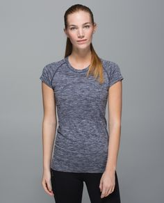 We made this run  shirt  to go the distance. The body is seamless to minimize chafing  during long runs, and the fabric is anti-stink so the only output we're worrying about is our wattage.