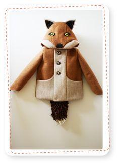 Fox coat - Kinderjas Vos