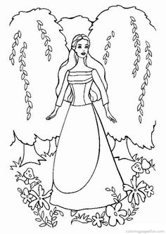 barbie coloring pages 18