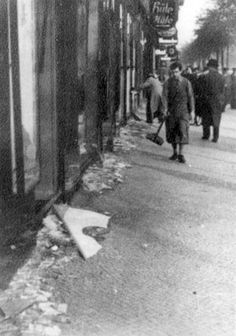 Germany, 11 November 1938, A Jewish-owned store ruined during Kristallnacht