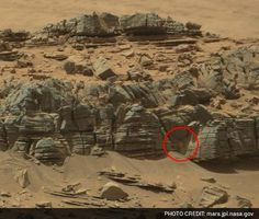 This Picture Of A Woman Found On Mars Is Shocking