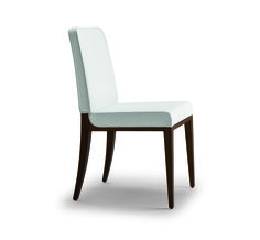 Opera 1.1 - Upholstered dining chair with piping detail and beech frame. Design: Edi and Paolo Ciani. #Chair #Seating #Design #Opera #Furniture #Montbel
