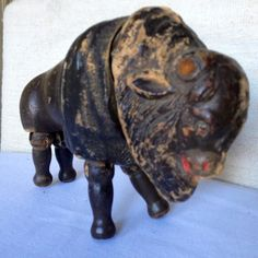 Schoenhut toys Buffalo 1800s