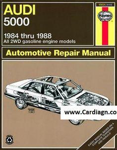 audi 4000 sedan and coupe for 1980 thru 1987 haynes repair manual rh in pinterest com 1994 Audi 100 1994 Audi 100