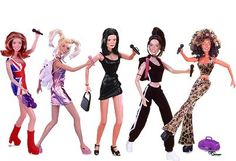 Spice Girl Dolls #90s--I had sporty and my dad got SOOOO pissed because she had tattoos!