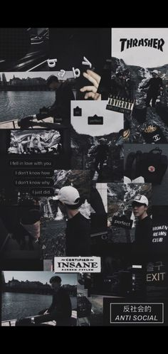 Thrasher, Anti Social, Bts Wallpaper, You And I, Tumblr, Iphone, Movie Posters, Movies, Art