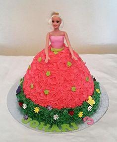 Barbie Birthday Cake - THE SWEET ESCAPE