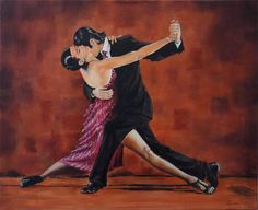 DANCE - canvas painting 60 x 40 cm  https://www.artmakers.pl/artist/688062966/ludwik