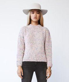 Nanushka 'Alysa Mermaid Sweater' shop LustCovetDesire.com #giftguide