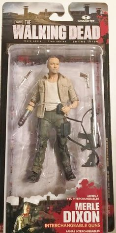 The Walking Dead MERLE DIXON mcfarlane toys moc mip