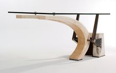 Studio MM: Contemporary Furniture - Planche Table - Modern Architect, Residential Design - NYC, Hudson Valley