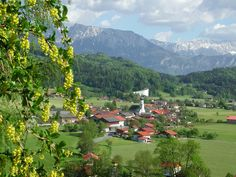 Erl in front of the Kaiser Alps, Germany, Mountains, Nature, Travel, Voyage, Viajes, Traveling, Deutsch