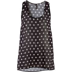 H&M Top (£9.99) ❤ liked on Polyvore