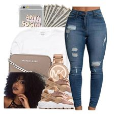 """Proud Family by Tori Lanez "" by glowithbria ❤ liked on Polyvore featuring Billabong, MICHAEL Michael Kors and Michael Kors"