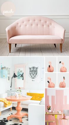 all things pastel color | Pastel Decor Roundup | At Home In Love