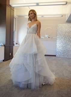 """""""Bijou"""" gown by Hayley Paige / Fall 2016 Collection, in stores now!"""